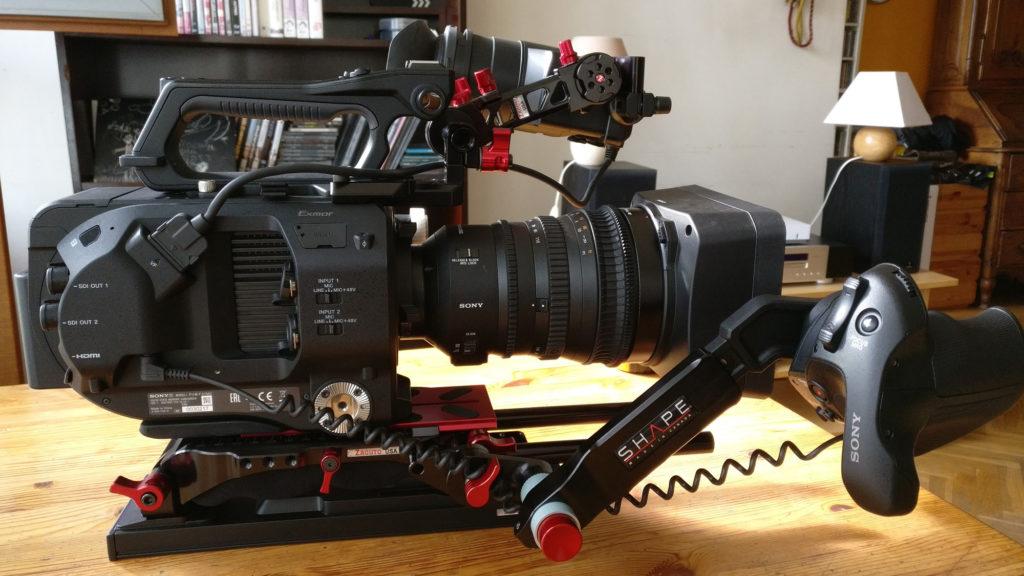 caméra SF7 avec accessoires
