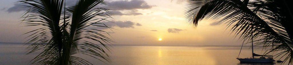 Photo d'un coucher de soleil